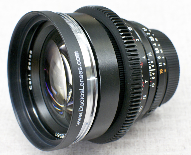 The closest alternative... Zeiss 85mm f/1.4 ZF, a prime lens that come so close to being a cine prime. With a solid aluminum housing and metal components it's a great compromise.