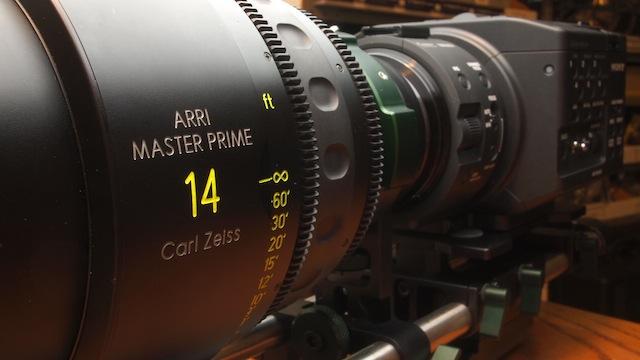 Zeiss 14mm Master Prime w/ Sony FS100