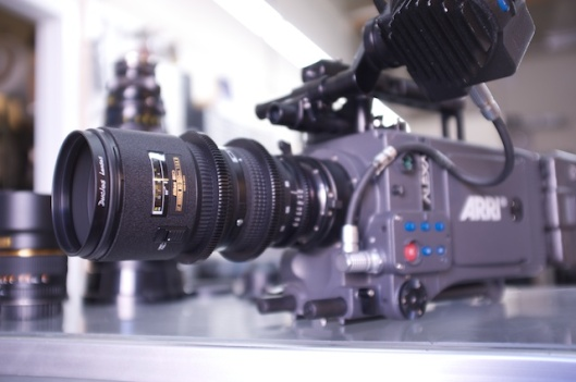 Duclos 80-200mm being used on an Arri Alexa, yielding excellent results.