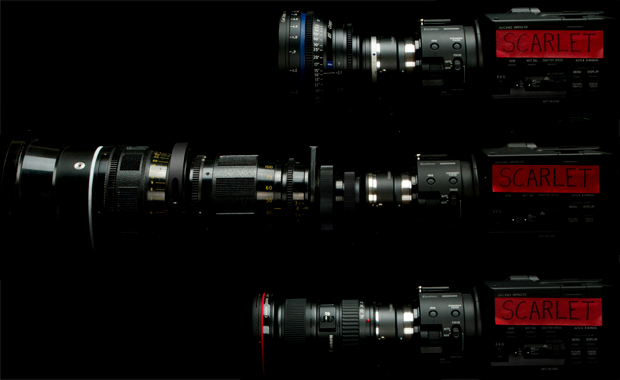 Lens Options : Scarlet Edition
