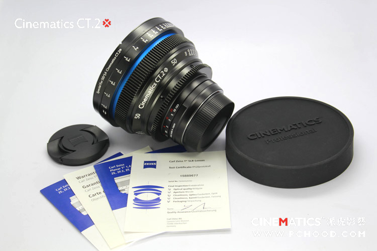 "CineMatics ""High Cost Customized Film Lens"""