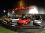 How to make Porsches look even cooler... Wide-angle.