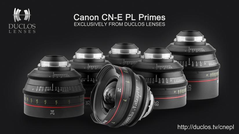 Canon CN-E PL Primes From DuclosLenses
