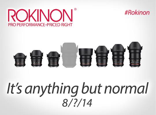 Rokinon Finally Adding a Much Needed 50mm (UPDATED)