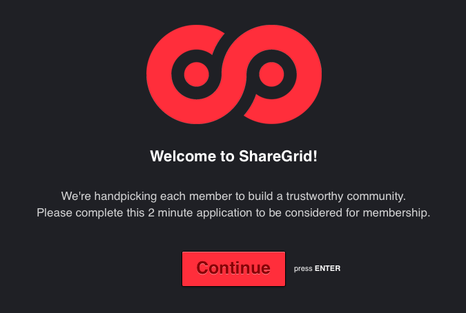 ShareGrid - apply