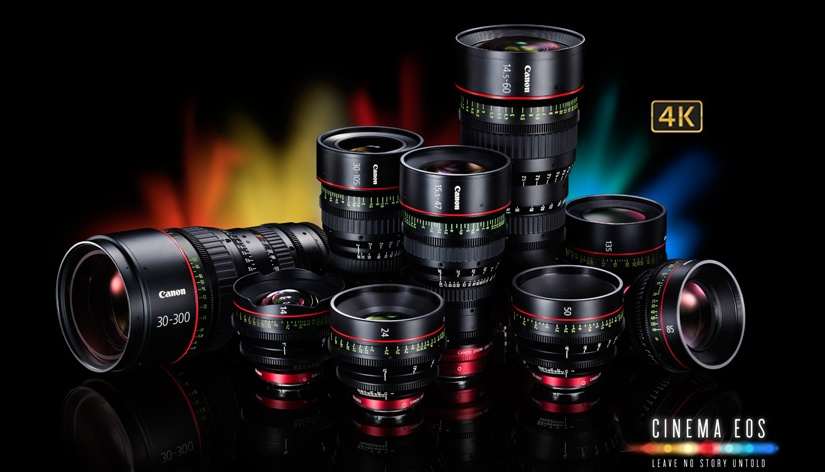 Canon Cinema EOS Lens Deals Updated for Q2, 2016