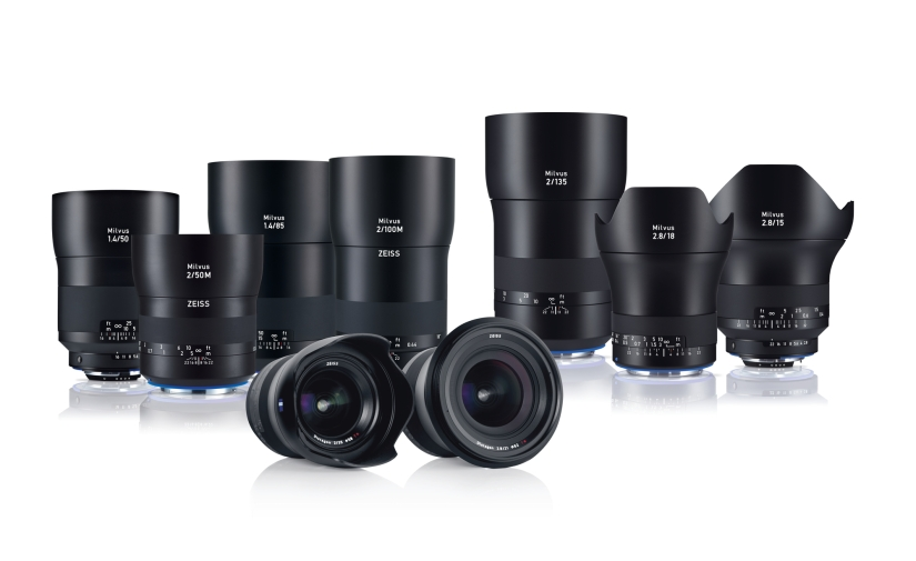 Zeiss Adds New Focal Lengths to Milvus Line Of Primes