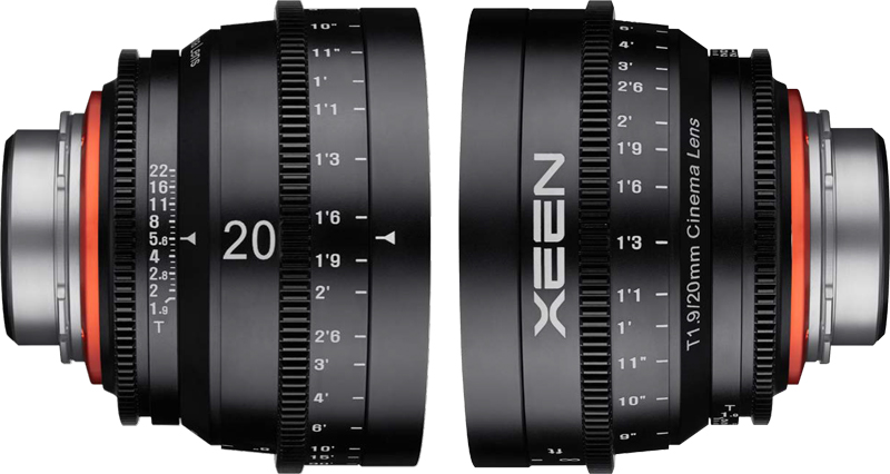 Rokinon Adds 20mm XEEN asPromised