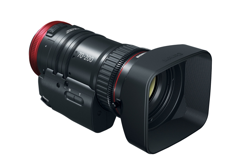 Canon Expands Compact-Servo Line with 70-200mm Tele-Zoom