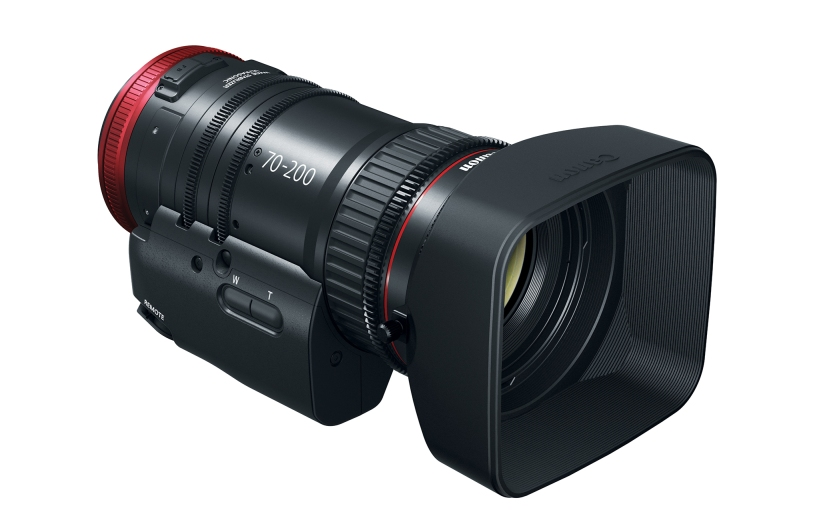 Canon Expands Compact-Servo Line with 70-200mmTele-Zoom