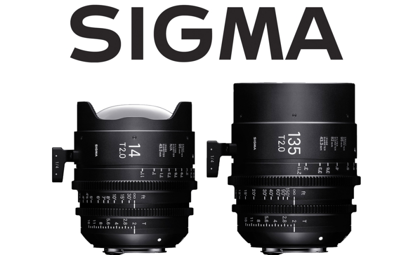 Sigma Fills Out Nicely with 14mm and 135mm Cine Primes
